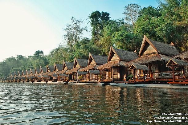 The FloatHouse River Kwai 浮在桂河上的悠閒假期