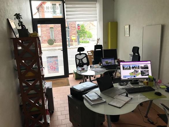 bureau de Rennes : bureau d'application développement durable