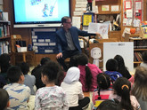Reading at PS24, Brooklyn