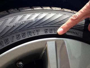 Ecco il significato dei codici presenti sugli pneumatici