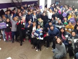 Formar liderazgos populares para fortalecer organización comunitaria