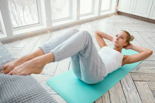 Exercise for professional women to keep shape