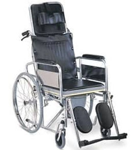 recline wheelchair for rent in Bangalore