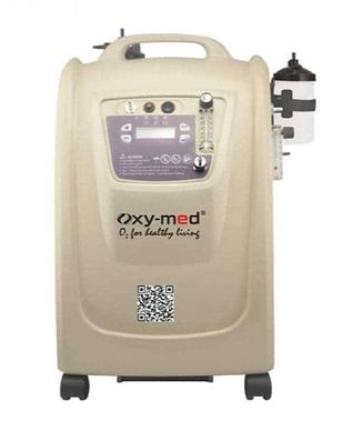 Oxymed 10 litre dual flow front image_ed
