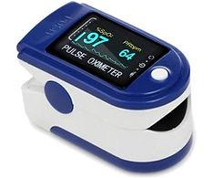 fingertip pulse oximeter with OLED displ