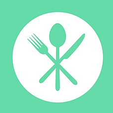 Cutlery Icon green