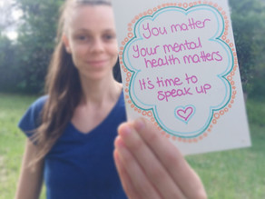 Let's keep the talk going on mental health!!!
