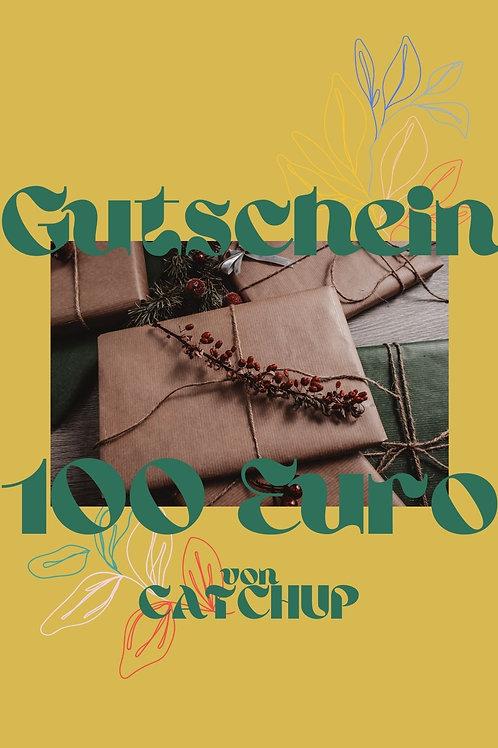 CATCHUP GUTSCHEIN 100