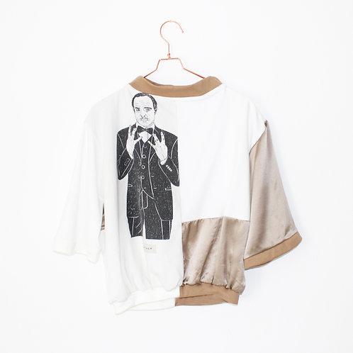 DER PATE SATIN Shirt Oversize