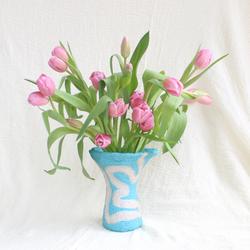 BLUE SNAKE Vase
