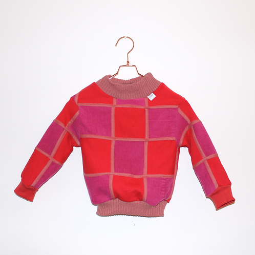 WAFFEL PATCH SWEATER