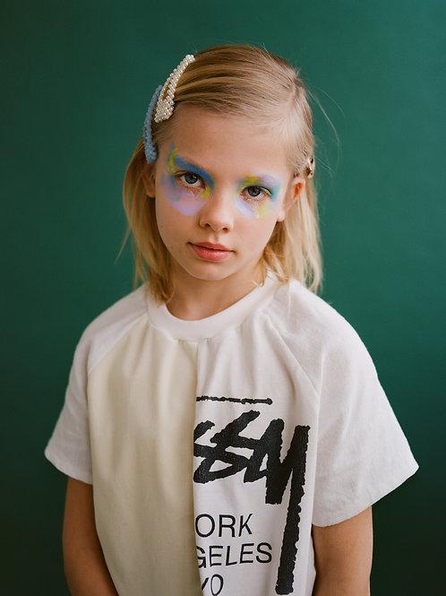STÜSSI BEIGE Silk Shirt