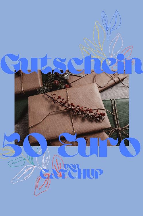 CATCHUP GUTSCHEIN 50