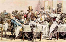 Gourmets et gourmands au XIXè siècle