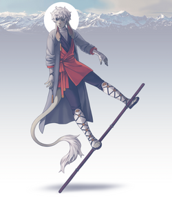 Firbolg monk