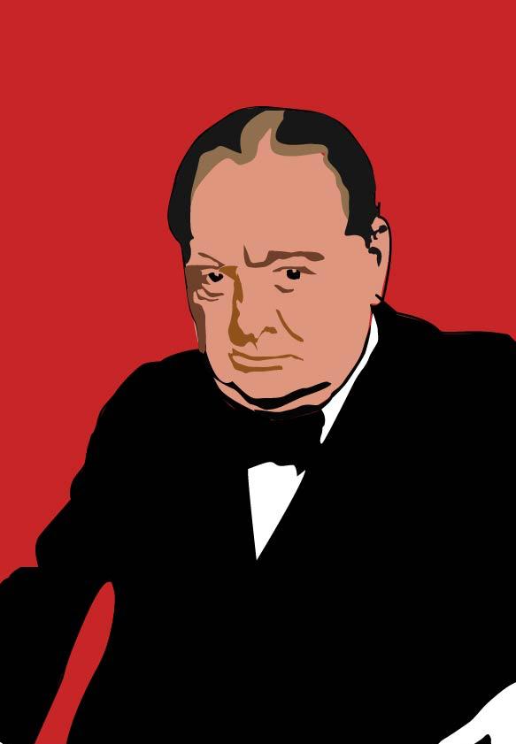 Churchill Illustration