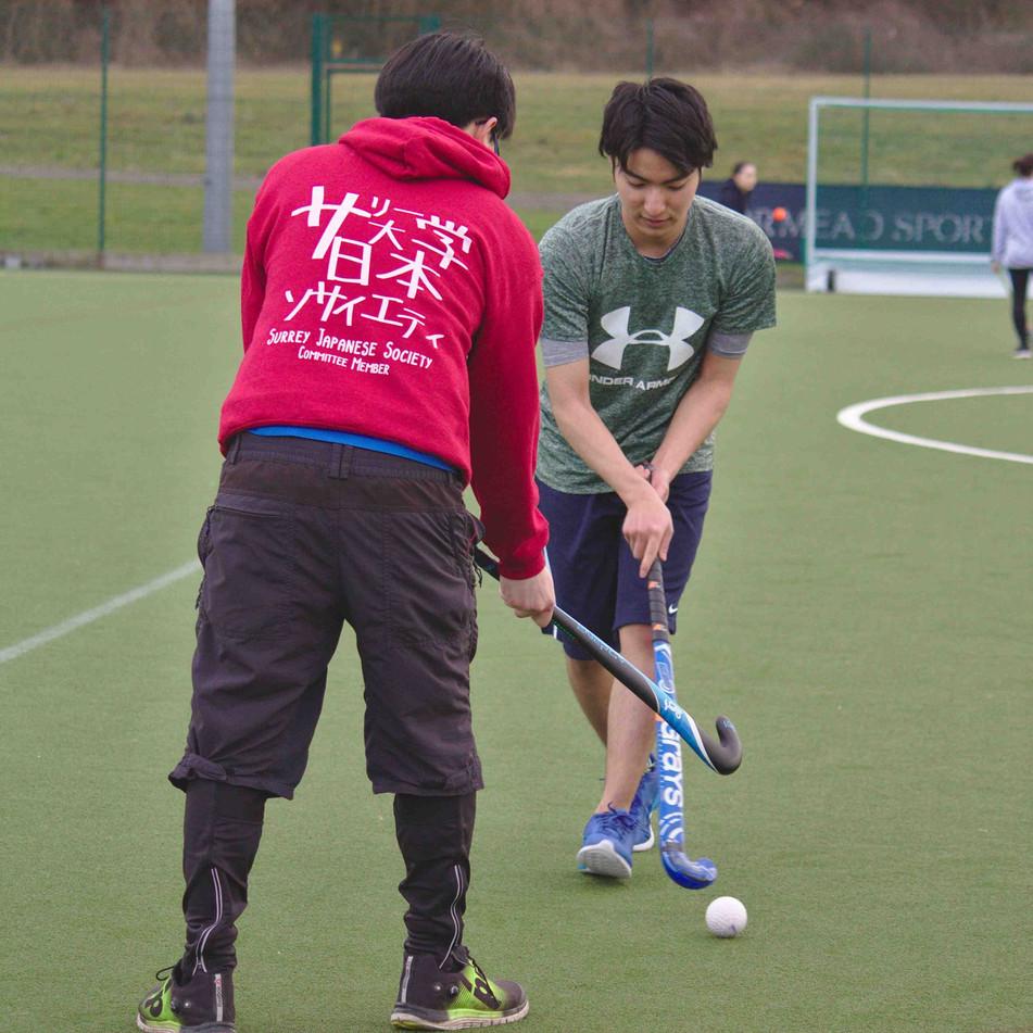 Surrey Japanese Society Committee Member Hoodie in action