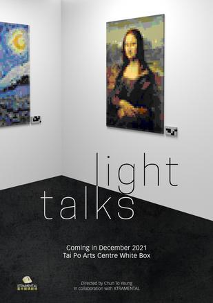 Light Talks Poster (Front)