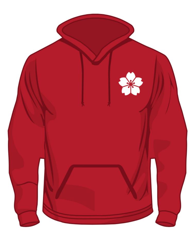 Surrey Japanese Society Committee Member Hoodie Design - Front