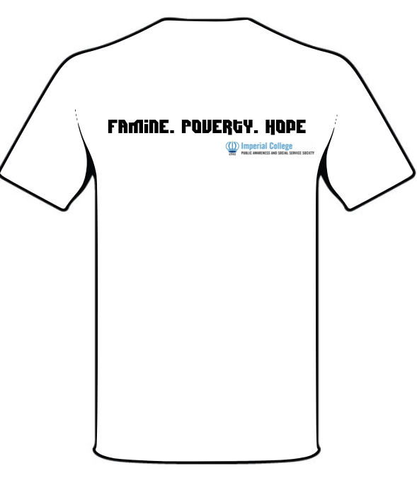 Imperial PASS Society - Famine 24 T-shirt Design Back