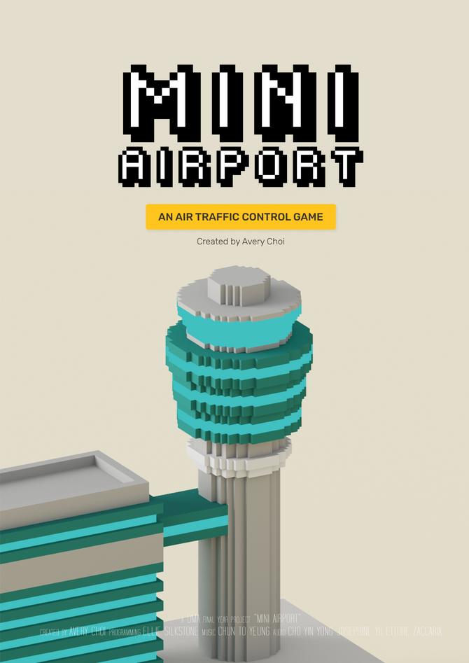 Mini Airport Poster