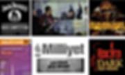 Jack Daniel's 1.lik, Miller Music Factory 1.lik, Halıcı Midi 3.lük, Milliyet 3.lük, Rock'n Dark 3.lük ödülleri