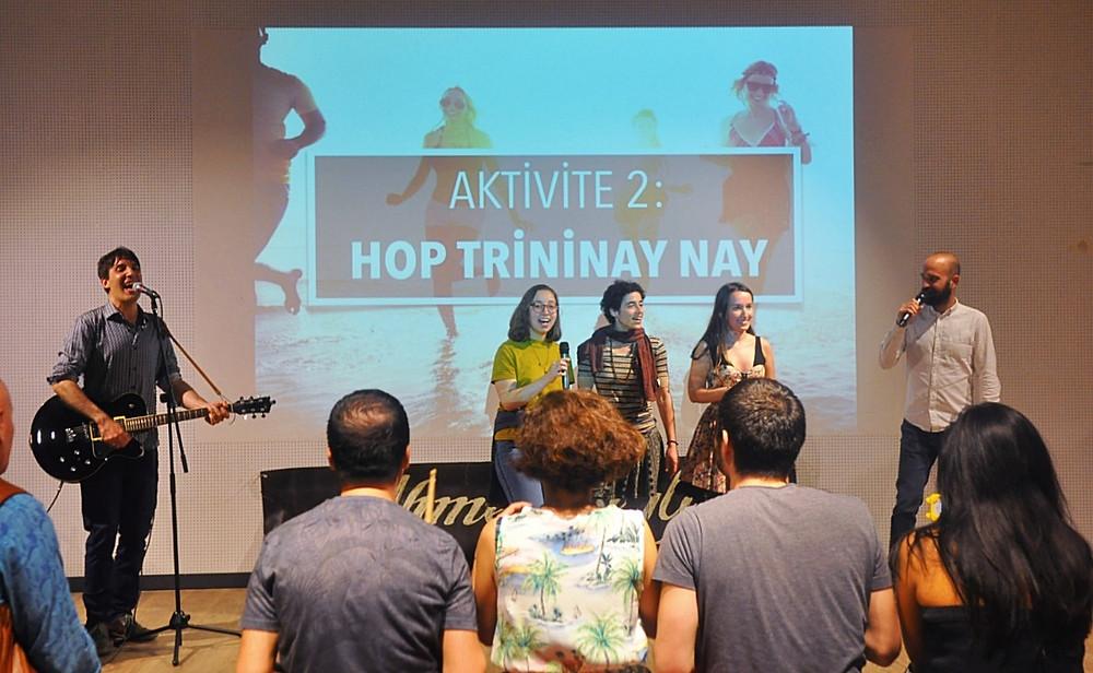 Atölye İstanbul'da Sosyal Müzik ve Hop Trininay Nay