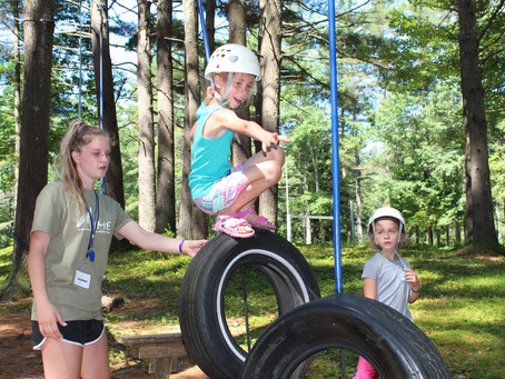Summer is just a season, but summer camp is for life because it enables:  Independence
