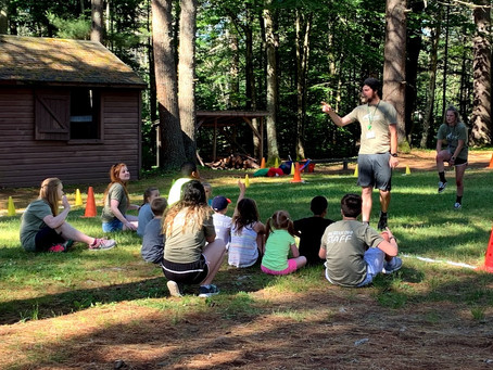 Summer is just a season, but summer camp is for life because it develops:  Leadership
