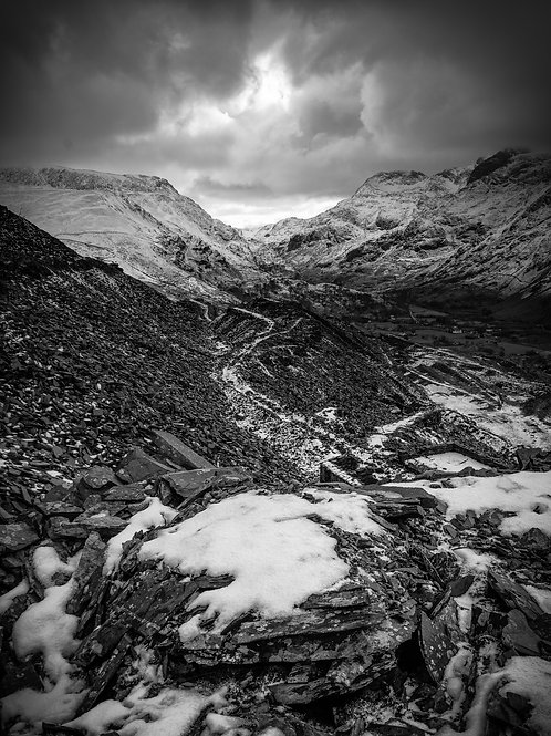 Pen Y Pass path