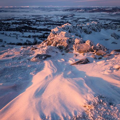 Dhustone Snow, Shropshire