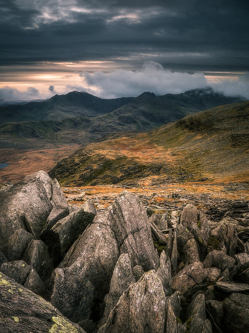 The Horseshoe, from Castell Y Gwynt