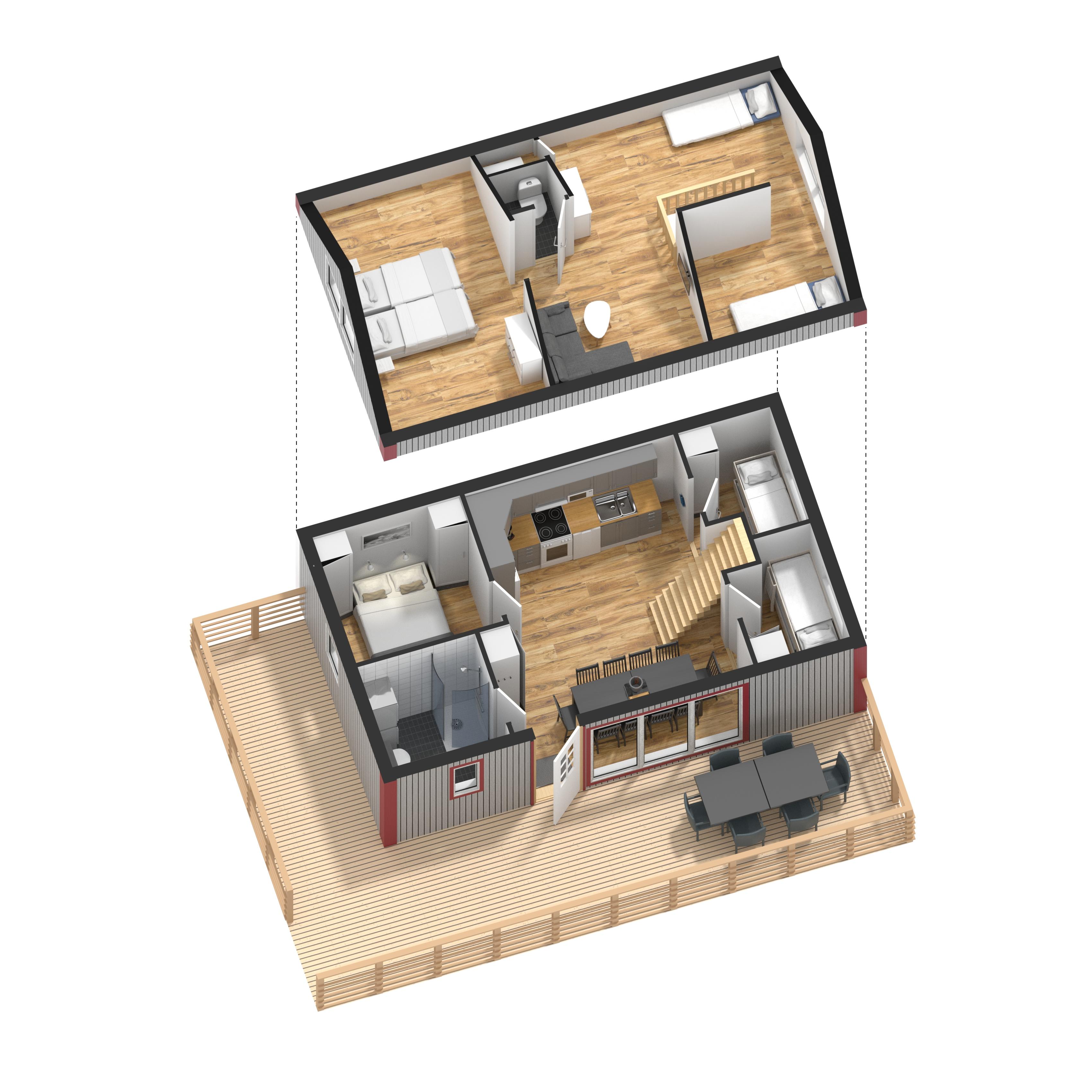 3D_Planritning_Löttorp_75kvm