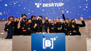 Ações da Desktop sobem 3% em estreia na B3