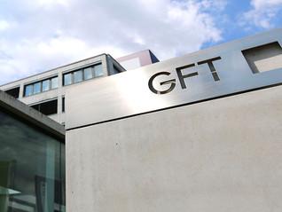 GFT bomba no Brasil, crescendo 44% em euro