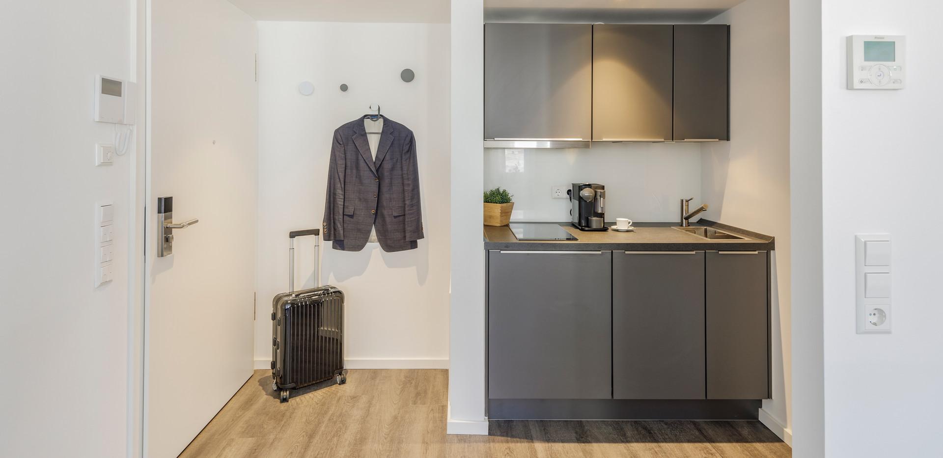 cosy grey apartment 'comfort'