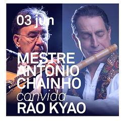 Mestre António Chaínho convida Rão Kyao