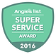 Angie's Super Service award San Antonio, VHS Landscaping