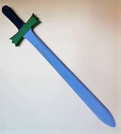 Grande épée verte