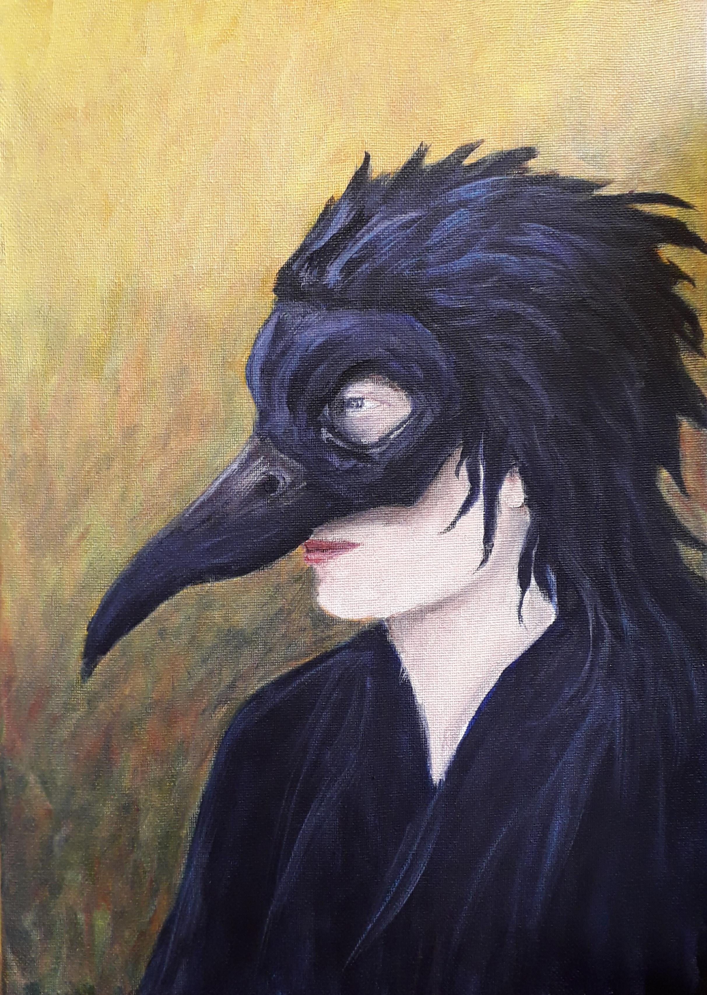 Black Bird Woman II