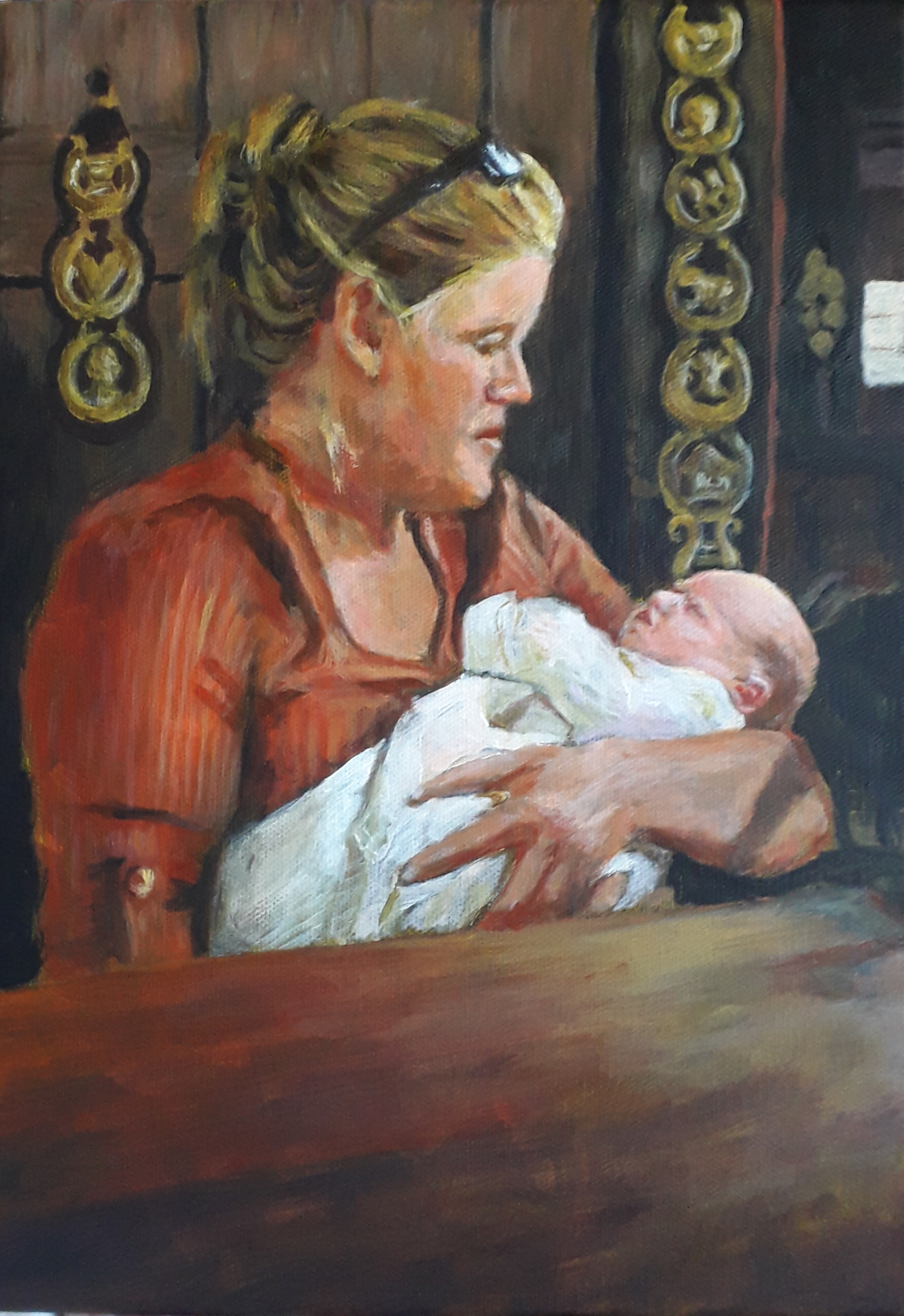 Commission: Mother and Child