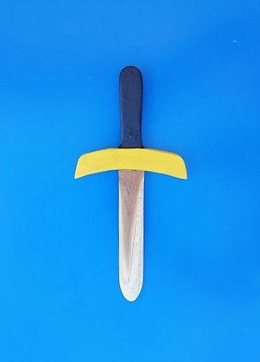 Mini dague jaune
