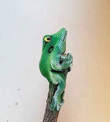 Crayon grenouille