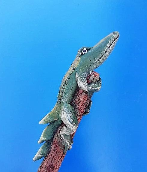Crayon crocodile