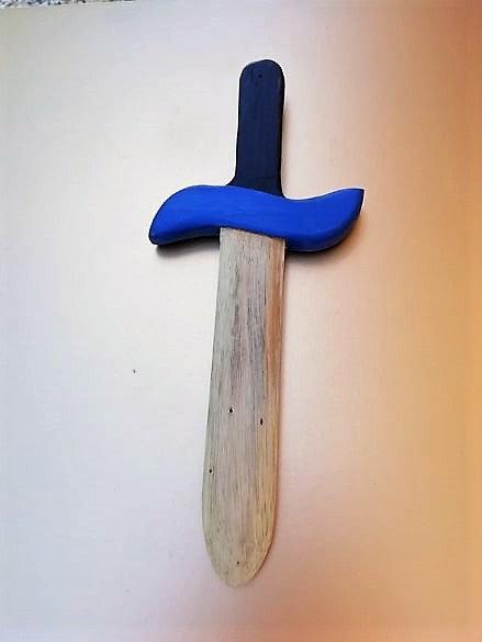 Dague bleue