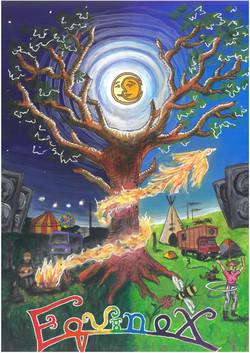 Equinox Festival promotional art