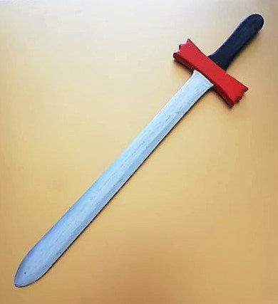 Grande épée rouge