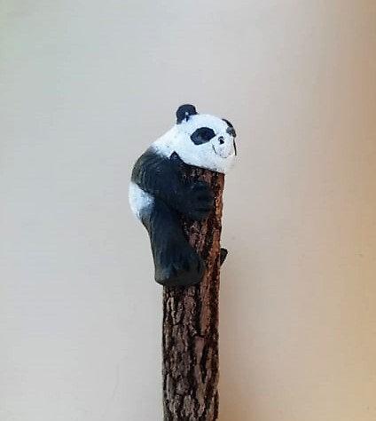 Crayon panda