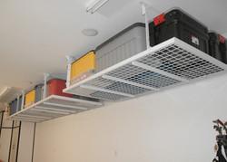 overhead rack installation