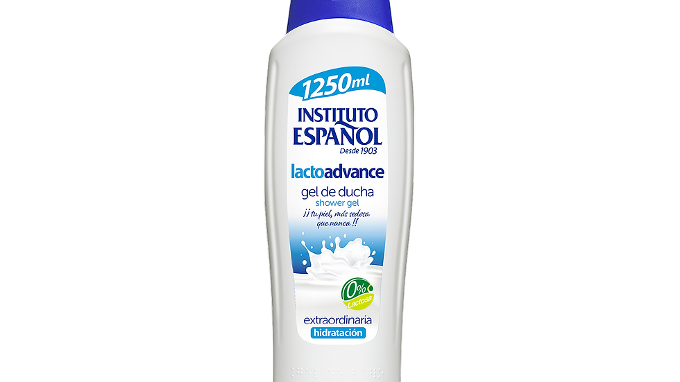 Instituto Español - Gel de Baño LACTOADVANCE 1250ml
